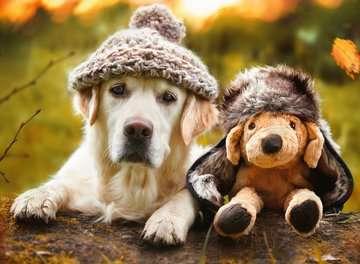Hond met muts Puzzels;Puzzels voor volwassenen - image 2 - Ravensburger