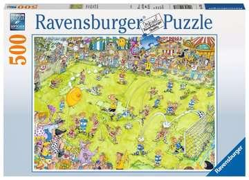 14786 Erwachsenenpuzzle Beim Fußballspiel von Ravensburger 1