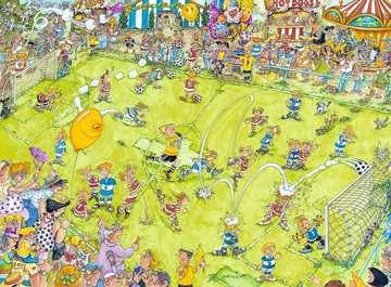 14786 Erwachsenenpuzzle Beim Fußballspiel von Ravensburger 2