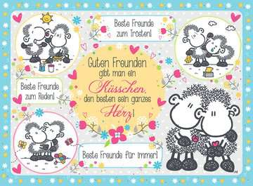 Guten Freunden gibt man ein Küsschen Puzzle;Erwachsenenpuzzle - Bild 2 - Ravensburger