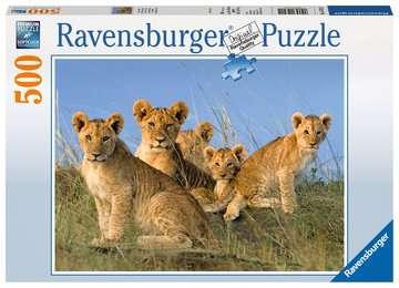 Löwen Babys Puzzle;Erwachsenenpuzzle - Bild 1 - Ravensburger