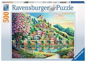 BLOSSOM PARK 500EL Puzzle;Puzzle dla dzieci - Zdjęcie 1 - Ravensburger