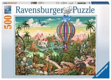 PODRÓŻ BALONEM 500EL Puzzle;Puzzle dla dzieci - Zdjęcie 1 - Ravensburger
