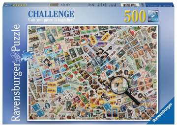 Stamps Challenge Jigsaw Puzzles;Adult Puzzles - image 1 - Ravensburger