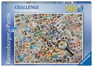 Les timbres-poste Puzzles;Puzzles pour adultes - Image 1 - Ravensburger