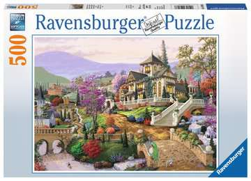 Hillside Retreat Jigsaw Puzzles;Adult Puzzles - image 1 - Ravensburger