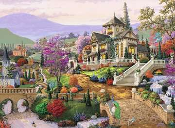 Hillside Retreat Jigsaw Puzzles;Adult Puzzles - image 2 - Ravensburger