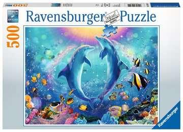 Dansende dolfijnen Puzzels;Puzzels voor volwassenen - image 1 - Ravensburger