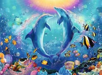 Dansende dolfijnen Puzzels;Puzzels voor volwassenen - image 2 - Ravensburger