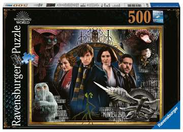 Fantastic Beasts: The Crimes of Grindelwald Puzzels;Puzzels voor volwassenen - image 1 - Ravensburger