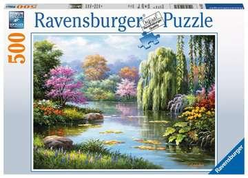 Romantic Pond View, 500pc Puzzles;Adult Puzzles - image 1 - Ravensburger