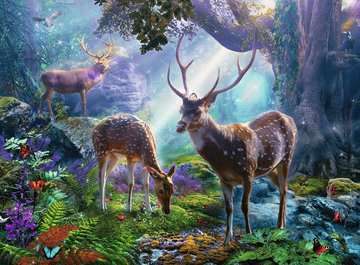 Deer in the Wild Puzzles;Adult Puzzles - image 2 - Ravensburger