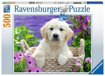 Puzzle 500 p - Doux Golden Retriever Puzzle;Puzzle adulte - Image 1 - Ravensburger