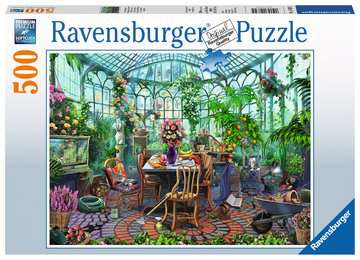 Greenhouse Mornings Jigsaw Puzzles;Adult Puzzles - image 1 - Ravensburger