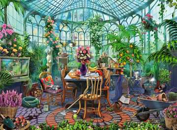 Greenhouse Mornings Jigsaw Puzzles;Adult Puzzles - image 2 - Ravensburger