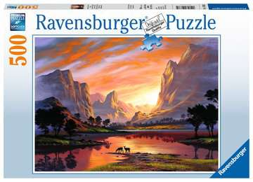 Tranquil Sunset Jigsaw Puzzles;Adult Puzzles - image 1 - Ravensburger