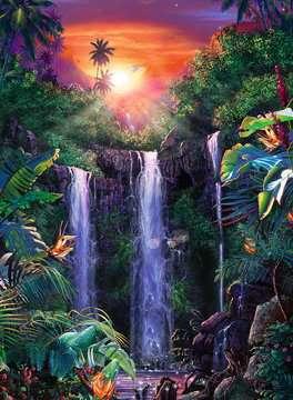 Magical waterfall Puslespil;Puslespil for voksne - Billede 2 - Ravensburger