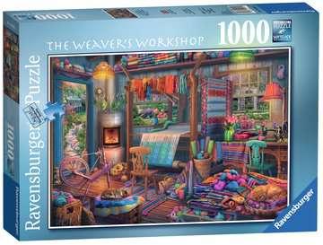 The Weaver s Workshop, 1000pc Puzzles;Adult Puzzles - image 1 - Ravensburger