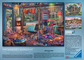 The Weaver s Workshop, 1000pc Puzzles;Adult Puzzles - image 3 - Ravensburger