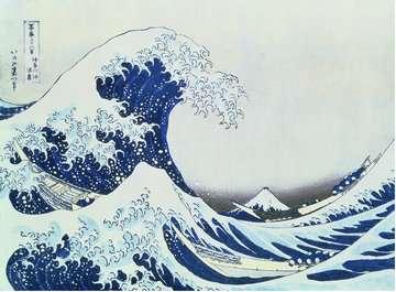 Puzzle 300 p Art collection - La Grande Vague de Kanagawa / Hokusai Puzzle;Puzzle adulte - Image 2 - Ravensburger