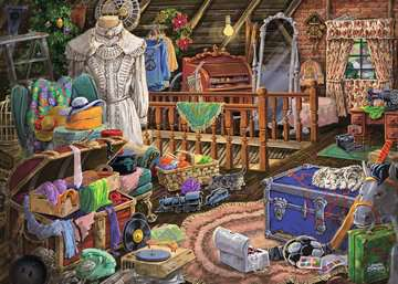 The Attic Jigsaw Puzzles;Adult Puzzles - image 2 - Ravensburger