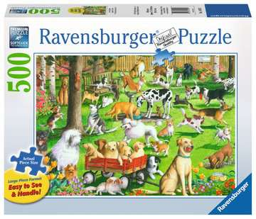 At the Dog Park Jigsaw Puzzles;Adult Puzzles - image 1 - Ravensburger