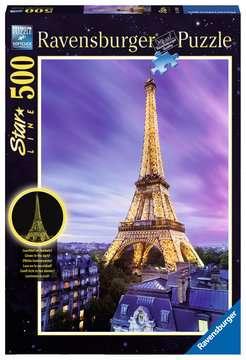 Puzzle 500 p Star Line - Tour Eiffel scintillante Puzzle;Puzzle adulte - Image 1 - Ravensburger