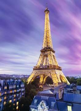 Funkelnder Eiffelturm Puzzle;Erwachsenenpuzzle - Bild 3 - Ravensburger