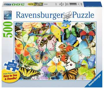 Butterflies Jigsaw Puzzles;Adult Puzzles - image 1 - Ravensburger