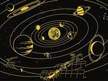 Puzzle 500 p Star Line - Le système solaire Puzzle;Puzzle adulte - Image 3 - Ravensburger