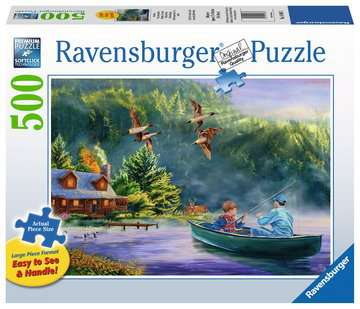 Week-end paisible Puzzles;Puzzles pour adultes - Image 1 - Ravensburger