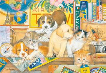 Pets on Tour Jigsaw Puzzles;Adult Puzzles - image 2 - Ravensburger