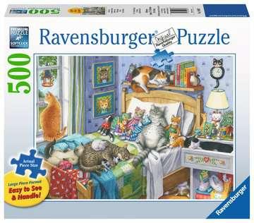 Cat Nap Jigsaw Puzzles;Adult Puzzles - image 1 - Ravensburger