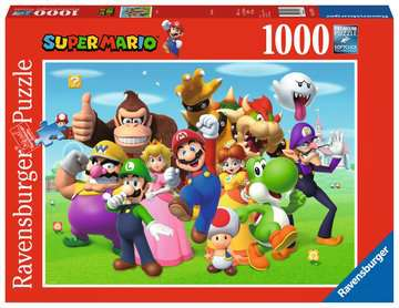 Super Mario               1000p Puslespil;Puslespil for voksne - Billede 1 - Ravensburger