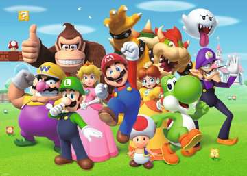 Super Mario               1000p Puslespil;Puslespil for voksne - Billede 2 - Ravensburger