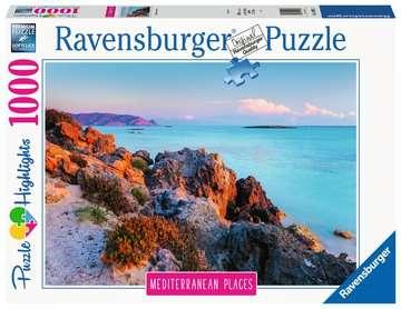 Mediterranean Greece  1000p Puslespil;Puslespil for voksne - Billede 1 - Ravensburger
