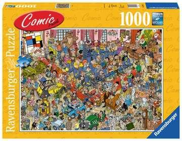 Comic puzzle - De veiling Puzzels;Puzzels voor volwassenen - image 1 - Ravensburger