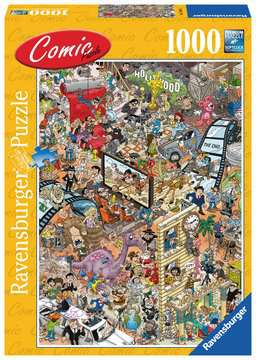 Comic puzzle - Hollywood Puzzels;Puzzels voor volwassenen - image 1 - Ravensburger