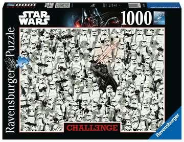 Puzzle 1000 p - Star Wars (Challenge Puzzle) Puzzle;Puzzle adulte - Image 1 - Ravensburger