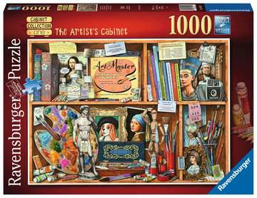 The Artist s Cabinet, 1000pc Puzzles;Adult Puzzles - image 1 - Ravensburger
