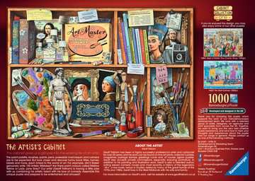 The Artist s Cabinet, 1000pc Puzzles;Adult Puzzles - image 3 - Ravensburger