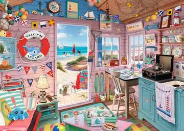 My Haven No 7, The Beach Hut 1000pc Puzzles;Adult Puzzles - image 2 - Ravensburger