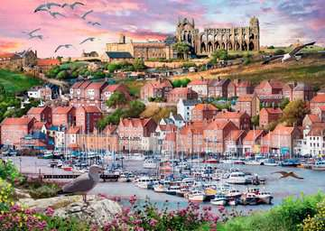 Whitby Sunset, 1000pc Puzzles;Adult Puzzles - image 2 - Ravensburger