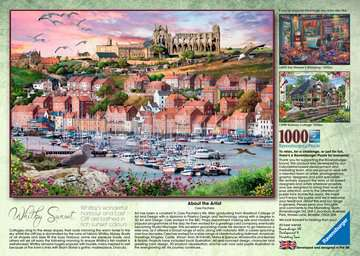 Whitby Sunset, 1000pc Puzzles;Adult Puzzles - image 3 - Ravensburger