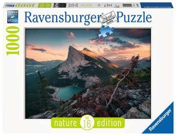 15011 Erwachsenenpuzzle Abends in den Rocky Mountains von Ravensburger 1