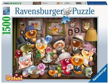 15014 Erwachsenenpuzzle Gelini Familienporträt von Ravensburger 1