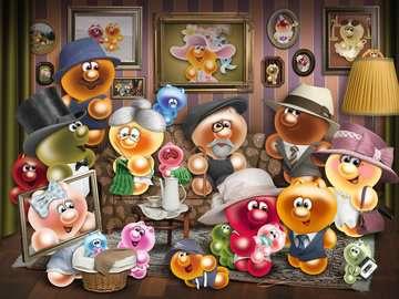 Gelini familie Puzzels;Puzzels voor volwassenen - image 2 - Ravensburger