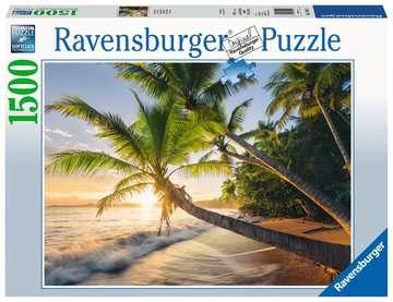 Puzzle 1500 p - Plage secrète Puzzle;Puzzle adulte - Image 1 - Ravensburger