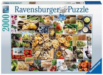 15016 Erwachsenenpuzzle Food Collage von Ravensburger 1
