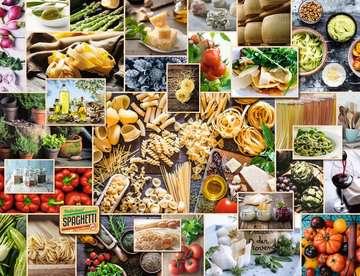 15016 Erwachsenenpuzzle Food Collage von Ravensburger 2
